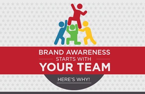 BRAND AWARENESS STARTS WITH YOUR TEAM